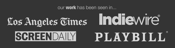 LA Times publications playbill screentime broadwayworld indiewire